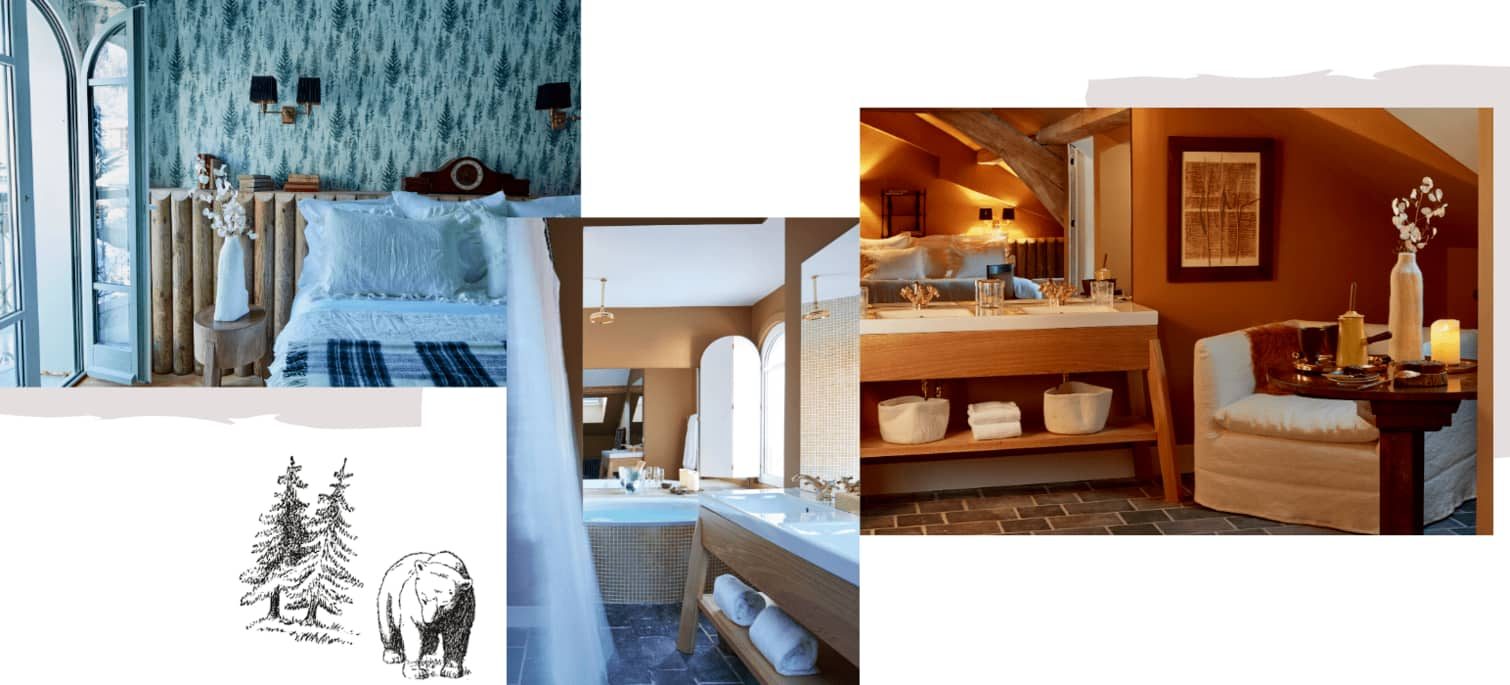 chambre hotel luxe megeve