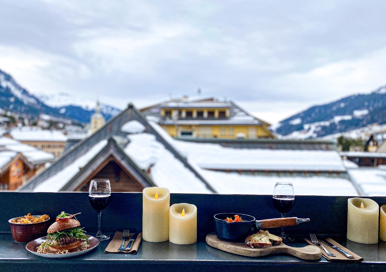 rooftop bar restaurant megeve