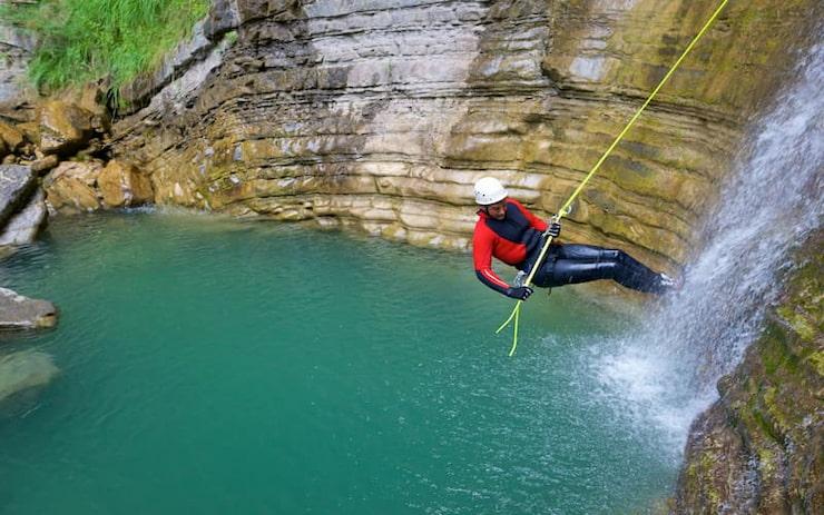 Canyoning à Megève