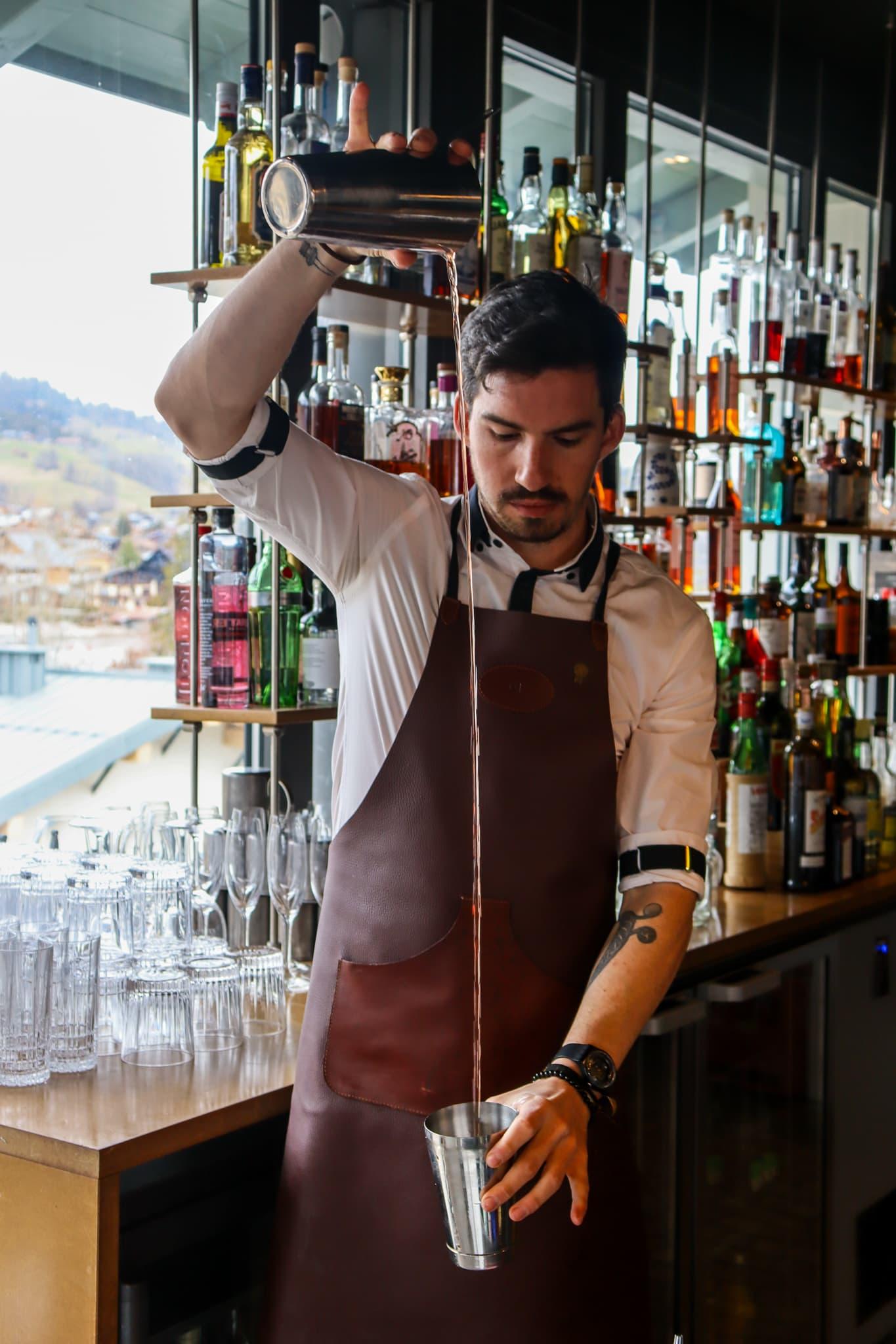 Barman Megève
