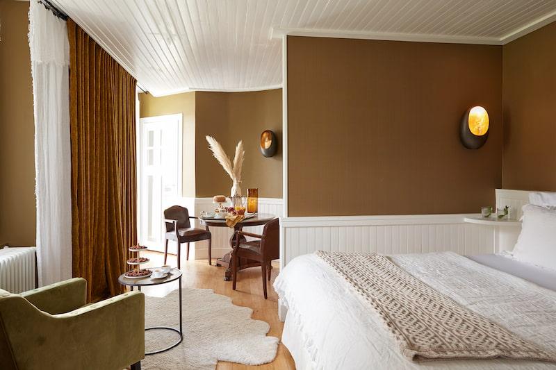 Suite prestige d'un hôtel 5 étoiles à Megève