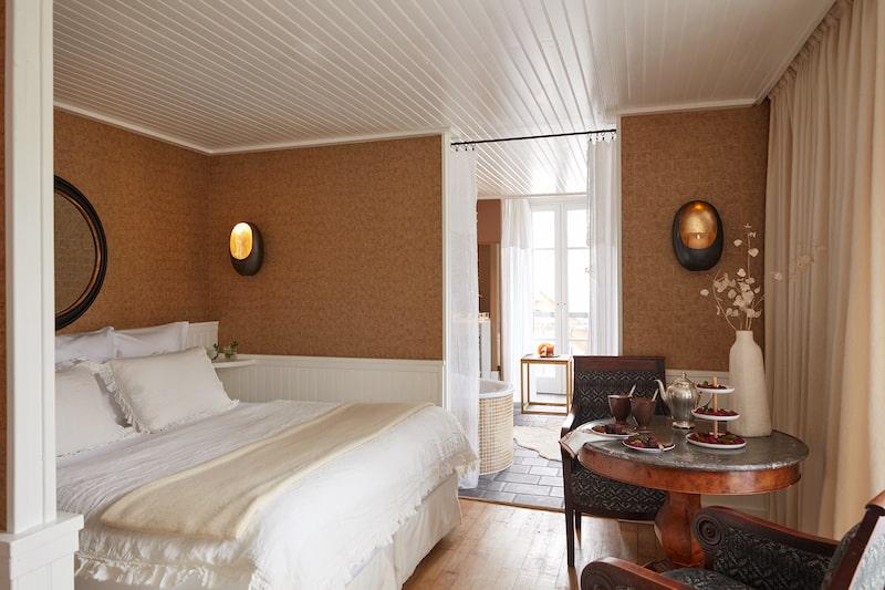 Suite carré caramel du Grand Hôtel du Soleil d'Or