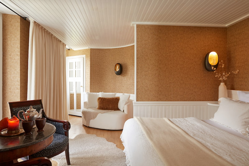 Chambre prestigieuse dans un hôtel 5 étoiles à Megève