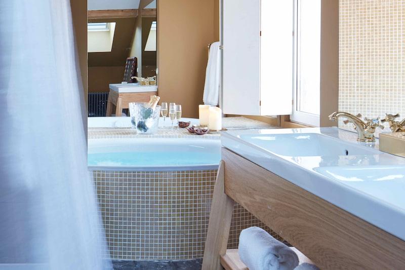Suite familiale dans un hôtel de luxe à Megève